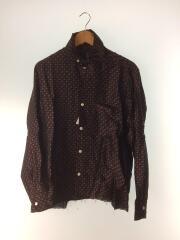 20SS/Cut-Off Bottom It Cl Shirts/長袖シャツ/S/ポリエステル/BRD/GL192