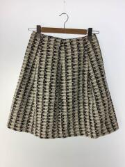 スカート/40/ナイロン/WHT/W5S52-210-05