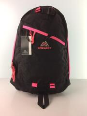 Day Pack/NEON PINK/タグ付/リュック/ナイロン/BLK/65169