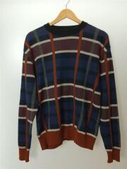 セーター(薄手)/3/シルク/ネイビー/407330007
