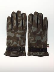 手袋/スウェード/GRY/グレー/カモフラ/SIZE 8
