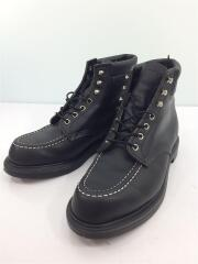 SuperSole 6 Moc Toe/ブーツ/US9/ブラック/レザー/8133/メンズ//ワークブーツ   モックトゥー