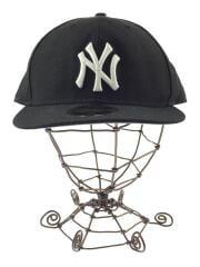キャップ/L/ウール/BLK/ベースボールキャップ NYヤンキース