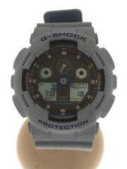 クォーツ腕時計・G-SHOCK/デジアナ/--/BLK/BLU