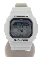 クォーツ腕時計・G-SHOCK/デジタル/ホワイト/GLX-5600