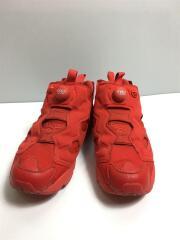 ハイカットスニーカー/26.5cm/RED/PVC/AR3239