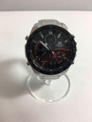 ソーラー腕時計・EDIFICE/アナログ/BLK