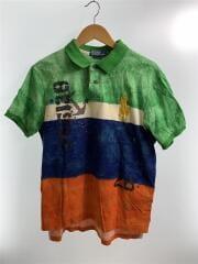 ポロシャツ/XL/コットン/マルチカラー