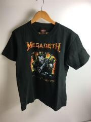 MEGADETH/メガデス/半袖Tシャツ/L/コットン/BLK/SHOOTボディ/00s~