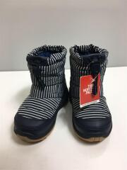 キッズ靴/15cm/ブーツ/ポリエステル/NVY/ヌプシ