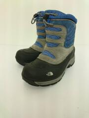 キッズ靴/21.5cm/ブーツ/BLU