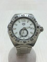 自動巻腕時計・フォーミュラ1キャリバー6/アナログ/ホワイト/シルバー/タグホイヤー