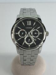 シチズン/自動巻腕時計/アナログ/ステンレス/BLK/NB2000-86E