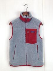 Classic Reto-X Vest/クラシックレトロXベスト/XS/ポリエステル/GRY/グレー/中古