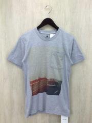 Tシャツ/THEPOSTERLIST/S/コットン/GRY