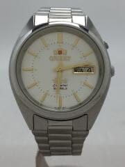 自動巻腕時計/アナログ/ステンレス/WHT/SLV/EM04-D1