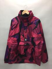 ナイロンジャケット/Anorak Jacket/M/ナイロン/RED/総柄/A1631950