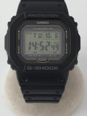 ソーラー腕時計・G-SHOCK/デジタル/ラバー/BLK/BLK