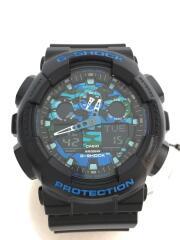 クォーツ腕時計・G-SHOCK/デジアナ/BLK/GA-100CB-1AJF