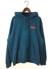 パーカー/Stop Crying Hooded Sweatshirt/XL/コットン/BLU