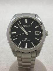 クォーツ腕時計/9F82-0AF0/アナログ/BLK/SLV