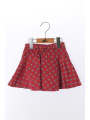 スカート/100cm/コットン/RED/チェック