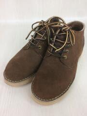 ブーツ/US7.5/BRW/スウェード/オックスフォード/204NWC