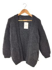 Hand Knit Cardigan/カーディガン(厚手)/36/ウール/GRY