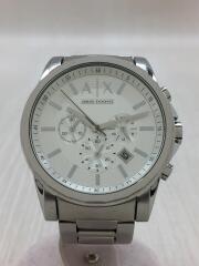 クォーツ腕時計_ステンレス/アナログ/SLV/AX2058