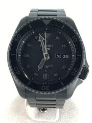 自動巻腕時計/アナログ/ステンレス/BLK/BLK/4R36-07G0