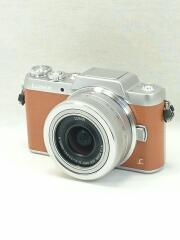 デジタル一眼カメラ LUMIX DMC-GF7W-T ダブルズームレンズキット [ブラウン]