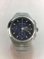 クォーツ腕時計/アナログ/ステンレス/BLK/7T92-0TB0
