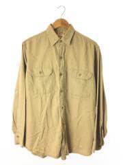 ビックマック/ペニーズ/50s/ワークシャツ/マチ付き/16/コットン/BEG/50年代/PENNYS