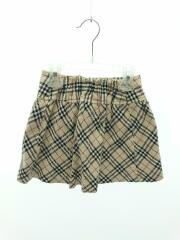 スカート/110cm/コットン/BEG/タータンCK/BURBERRY LONDON/バーバリーロンドン