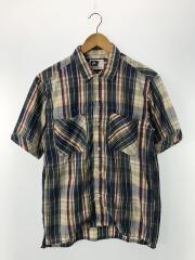 半袖シャツ/XS/コットン/マルチカラー/チェック