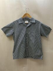 18SS/半袖開襟シャツ/38/コットン/BLK/ギンガムチェック/アーバンリサーチドアーズ