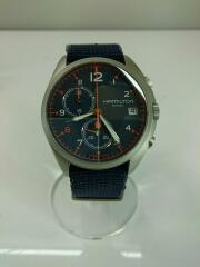 クォーツ腕時計/アナログ/NVY/BEAMS40周年記念/箱有/H893020