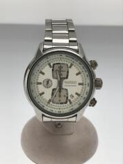 クォーツ腕時計/アナログ/ステンレス/SLV/クロノグラフ/キズ有/7T92-0SY0