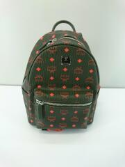リュック/PVC/KHK/総柄/カーキ×オレンジ/Stark Backpack/MMK9AVE97G8001