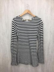 BORDER WEST HOLE PULLOVER/長袖カットソー/ホワイト