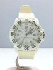 クォーツ腕時計/アナログ/1GBq H-3LX/MBM/シルバー