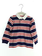 ポロシャツ/ラガーシャツ/90cm/コットン/マルチカラー
