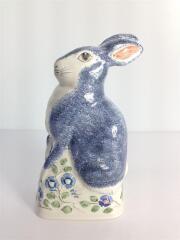 RYE POTTERY/ウサギの置物/MADE IN ENGLAND/インテリア雑貨/ホワイト