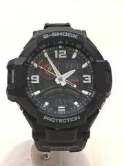 クォーツ腕時計・G-SHOCK/デジアナ/ラバー/BLK/BLK//  GRAVITYMASTER  GA-1000-1AJF