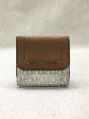 3つ折り財布/--/BRW/35H8GYEF2B/マイケルコース