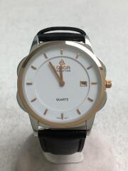 クォーツ腕時計/アナログ/ラバー/WHT/ロバー/LB3503