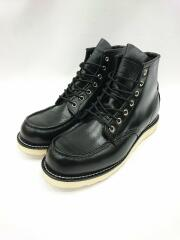 RED WING/レッドウィング/レースアップブーツ/US9/BLK/レザー/08848-0