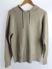 セーター(厚手)/FREE/ウール/BEG/パーカーニット/11620522/毛玉あり