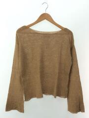 セーター(薄手)/FREE/コットン/CML/無地/11810531/Silk Boatneck Knit