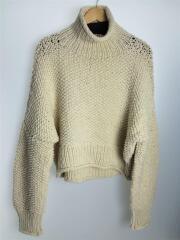 セーター(厚手)/FREE/ウール/IVO/無地/Hand knit Short Turtle/11820516